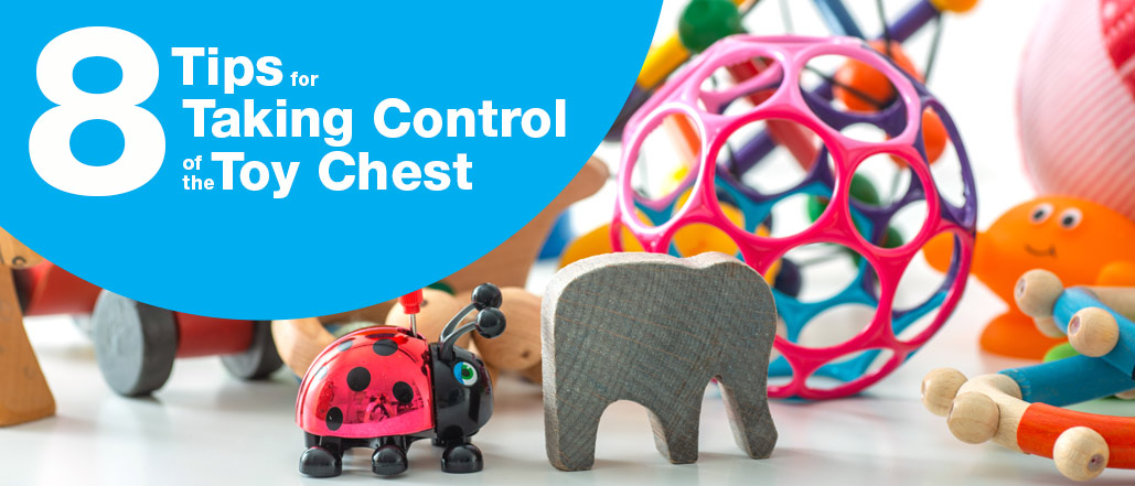 8 Tips for Taking Control of the Toy Chest