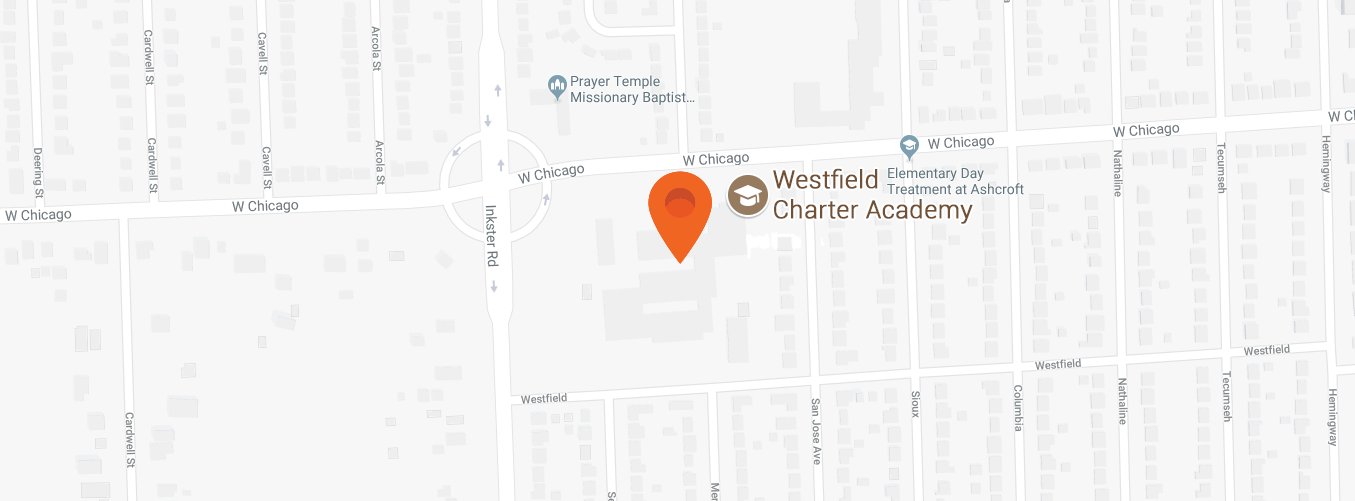 Map to Westfield Charter