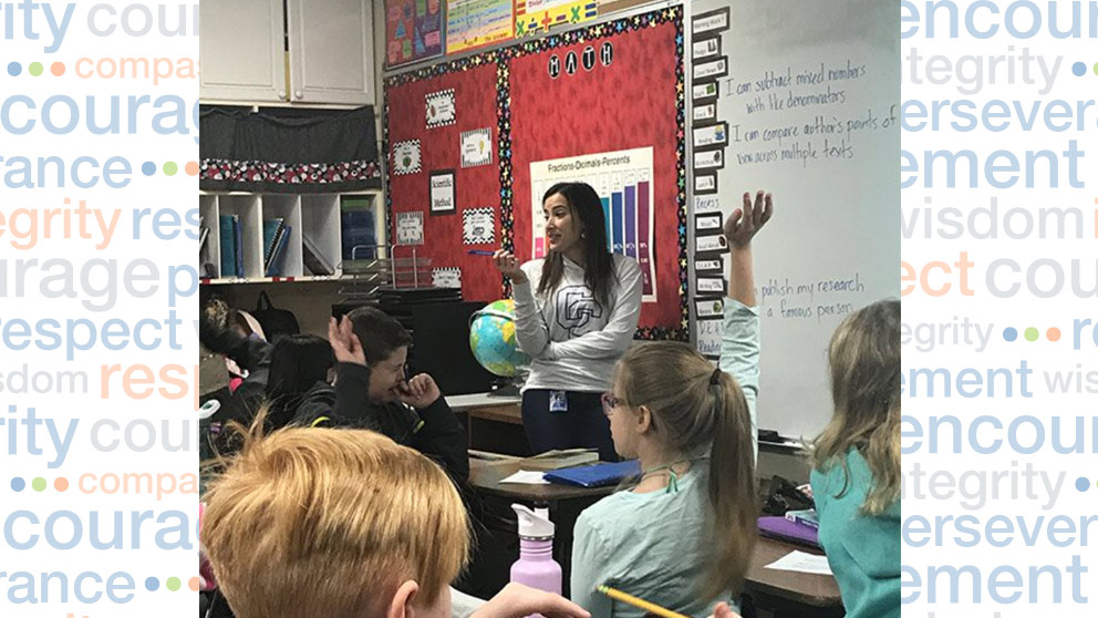Cross Creek Charter Academy Teacher Encourages Collaboration