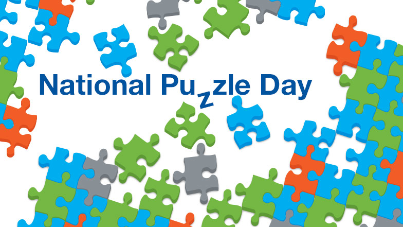 Today is National Puzzle Day