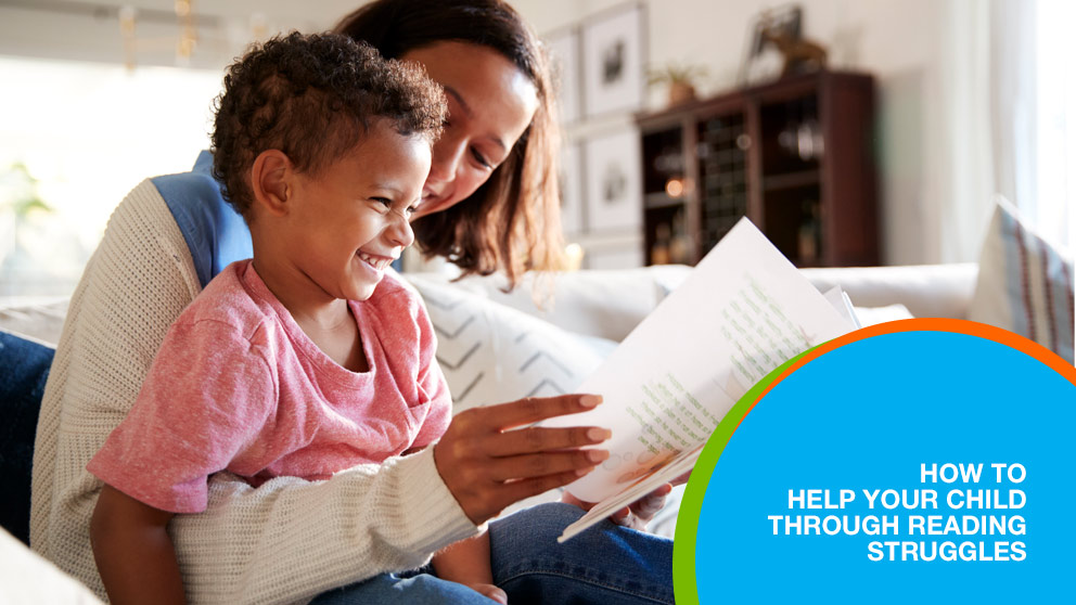 How to Help Your Child Through Reading Struggles