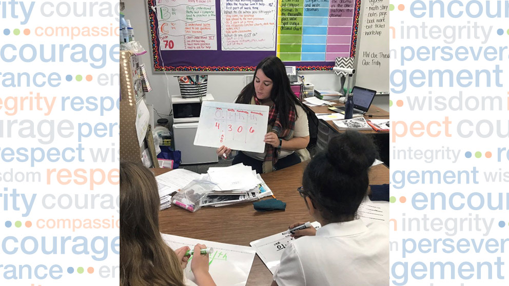 Forsyth Academy Teacher Uses Data to Reach Goals