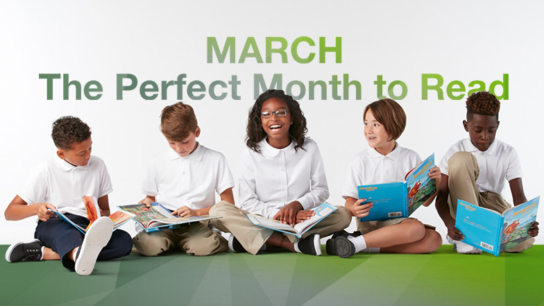 March - the Perfect Month to Read