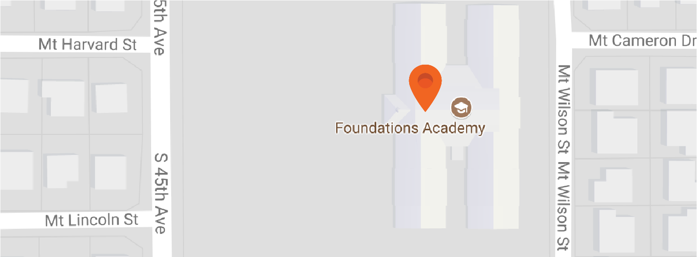 Map to Foundations Academy