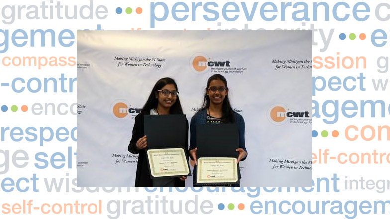 Plymouth-Canton Middle School Students Awarded First Place in Annual Website Design Competition