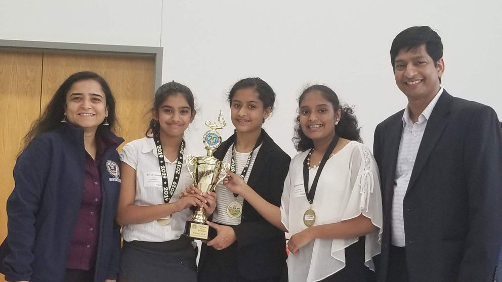 All-Female Robotics Team Places Fourth in International Coding and Robotics Competition