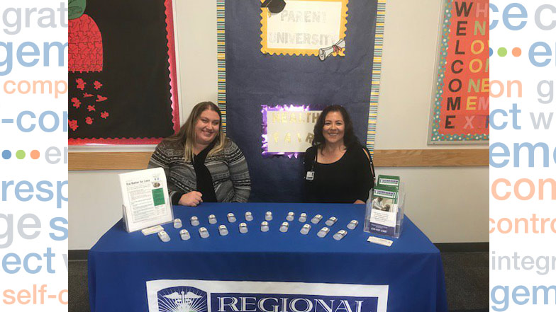 Parent education booth