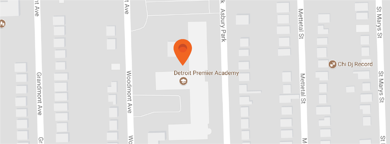 Map to Detroit Premier