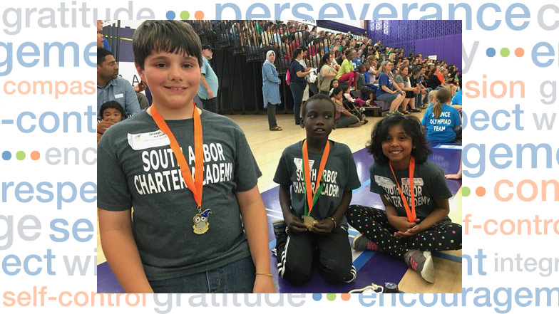 Science Olympiad student winners