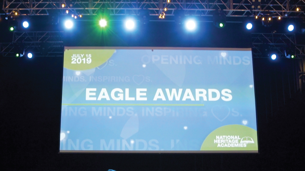 Eagle Awards 2019: National Heritage Academies Celebrates and Recognizes Staff