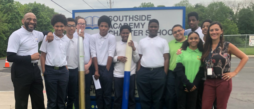 Southside Academy Charter School Students to Compete in STEM-Focused Rocketry Challenge