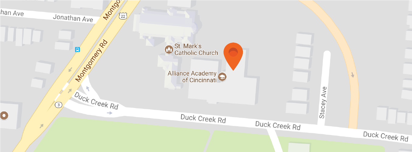 Map to Alliance Academy