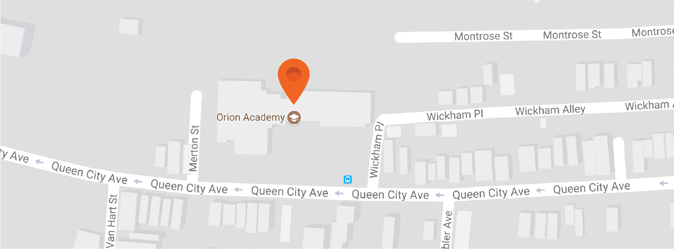 Map to Orion Academy