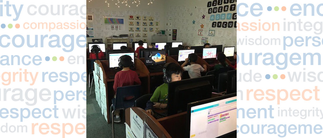 Holland Students Practice Tech Skills During 'Hour of Code'