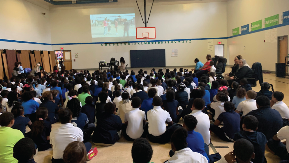 Southside Academy Charter School Partnered with Rachel's Challenge for Bullying Prevention