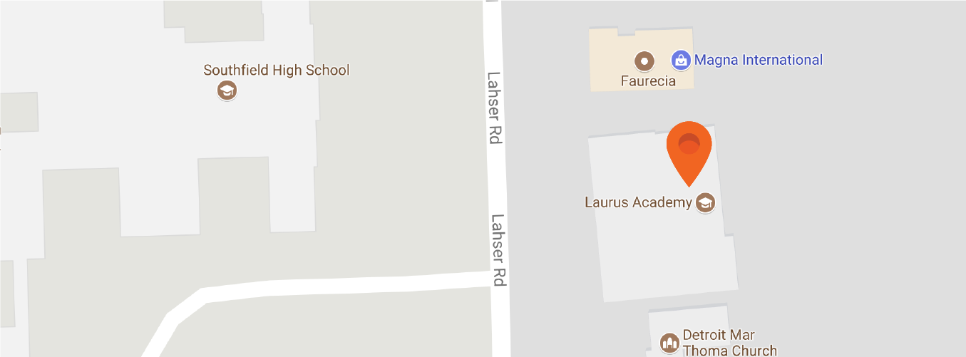 Map to Laurus Academy