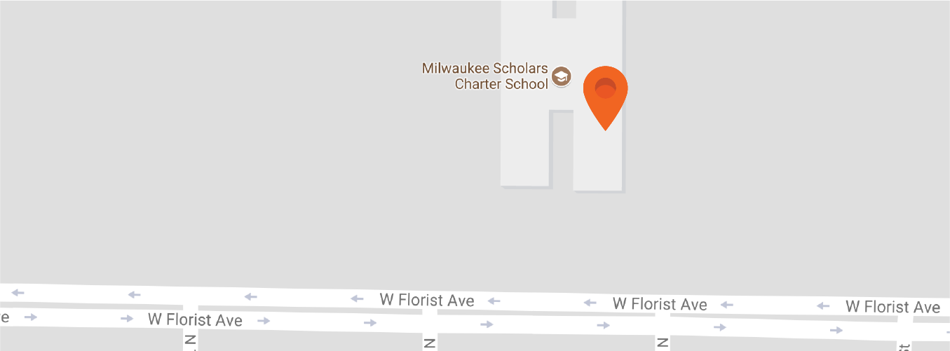 Map to Milwaukee Scholars