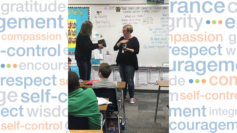 Greensboro Teacher Surprised with Award