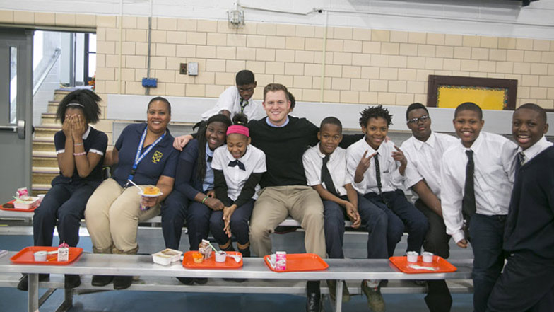 Spotlight: DPA Treated to Pancakes with Principal