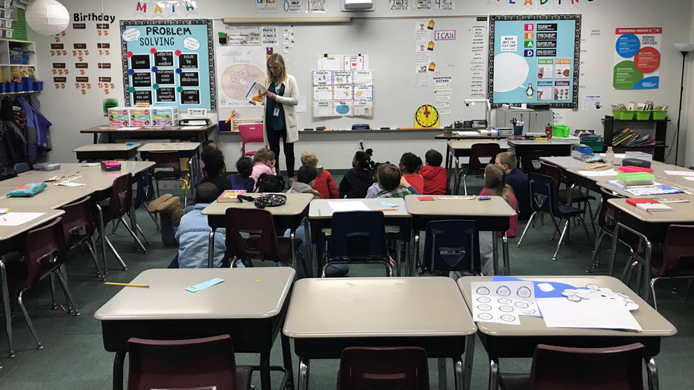 Second Grade Leads the Way at Knapp Charter Academy
