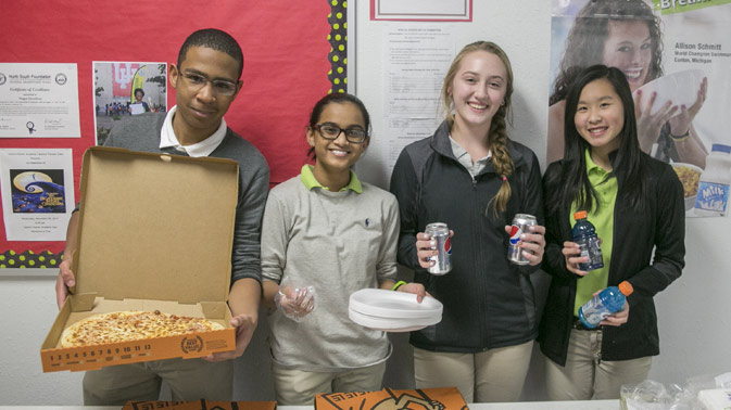 Student Pizza Party