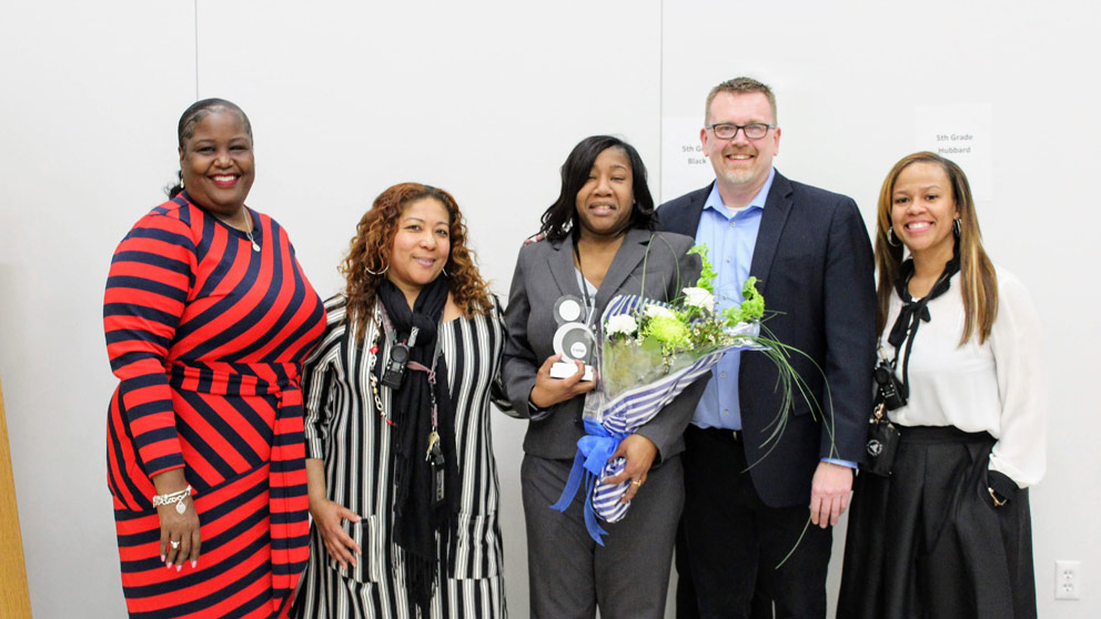 Aspire Teacher Honored With Excellence In Teaching Award