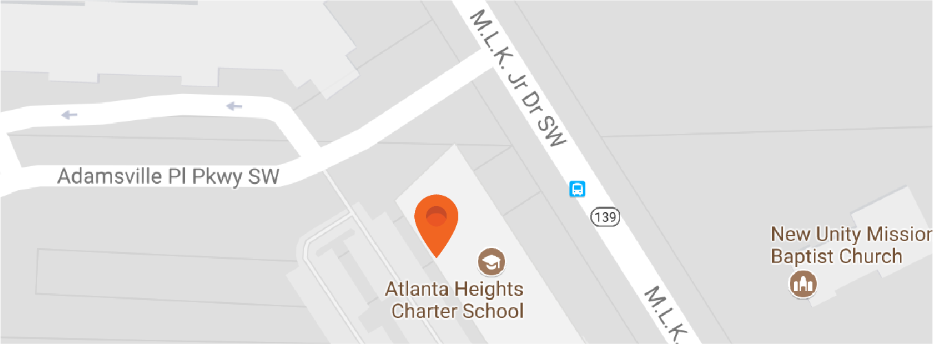 Map to Atlanta Heights